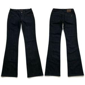 DL1961 Jeans Jennifer High Rise Boot Dark Indigo